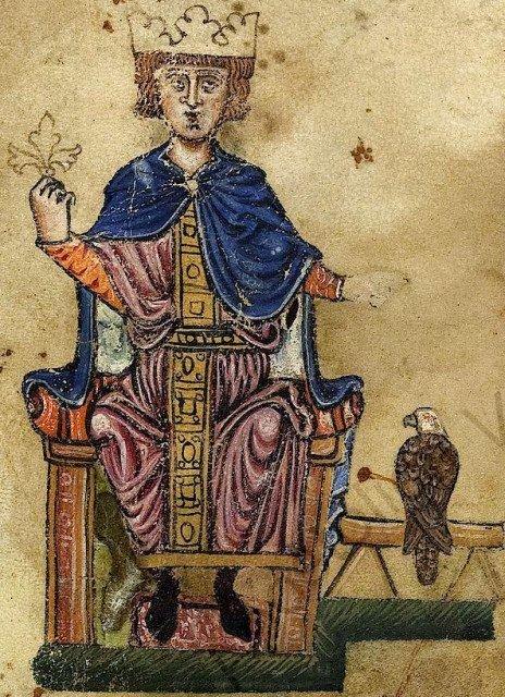 Римский император Фредерик II.